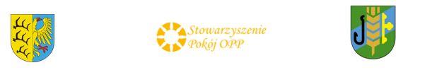 herb gminy Pokój, gminy Dobrzeń Wielki, logo stowarzyszenia Pokój