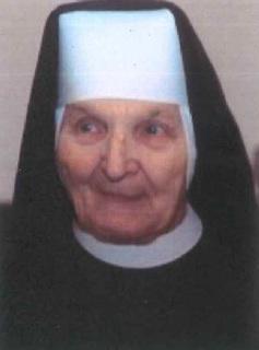 ś.p. Siostra M. Bertrada, Honorowa Obywatelka Gminy Dobrzeń Wielki (zmarła 9 marca 2021r.)