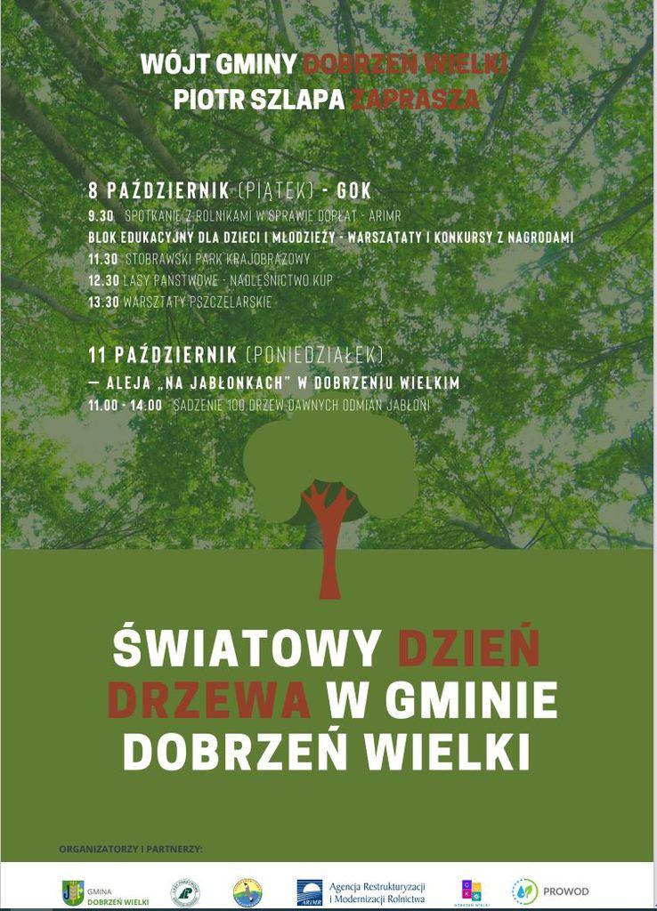 Program Światowego Dnia Drzewa w Gminie Dobrzeń Wielki