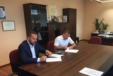 Podpisanie umowy na realizację zadania MODERNIZACJA ENERGETYCZNA BUDYNKU GMINNEGO OŚRODKA KULTURY W DOBRZENIU WIELKIM.jpeg